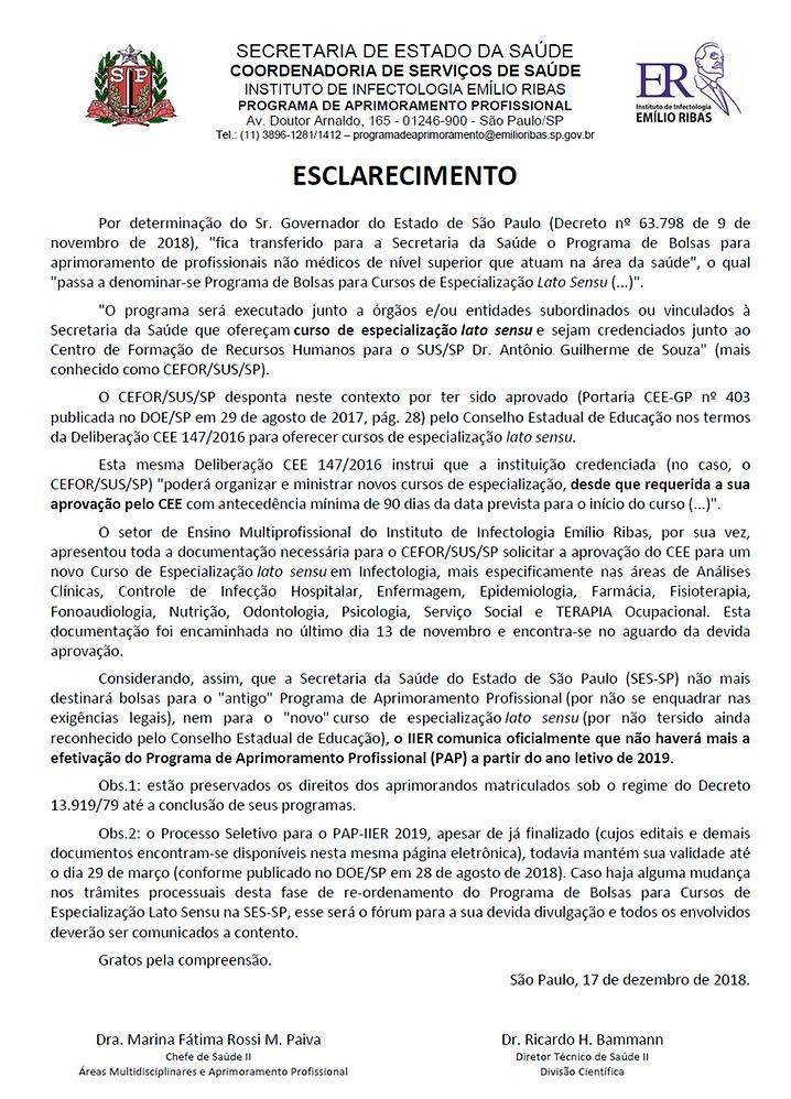 ESCLARECIMENTO PAP-IIER 2019.png