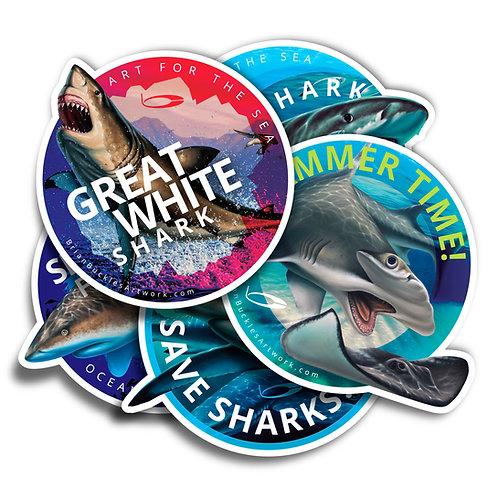Shark Sticker Pack