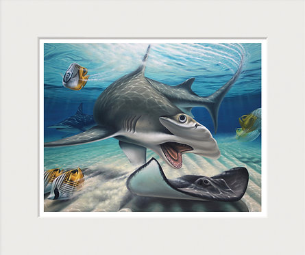 Great Hammerhead Art Print