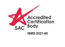 ISOCert ISO 27001 ISMS SAC Accreditedjpg