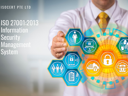 We are SAC Accredited for ISO 27001:2013 ISMS