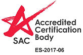 ISOCert ISO 14001 EMS SAC Accredited