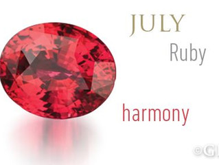 """King of Gemstones""-July's Birthstone Ruby"