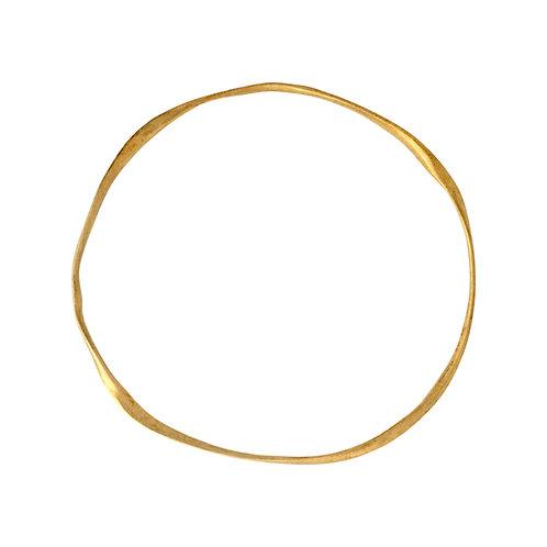 GOLD  PLATED BANGLE BRACELET