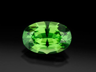 The purity of Peridot - August Birthstone