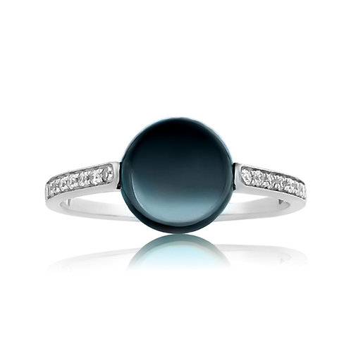 BLUE TOPAZ STACKABLE RING