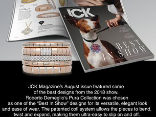 "Whose Collection was selected as ""Best in Show"" Designs ?"