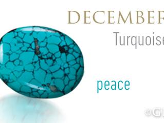 December Birthstones - Turquoise & Tanzanite