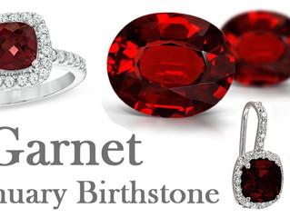January Birthstone - Garnet