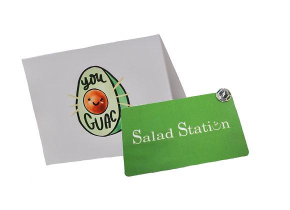 Salad Station Gift Card