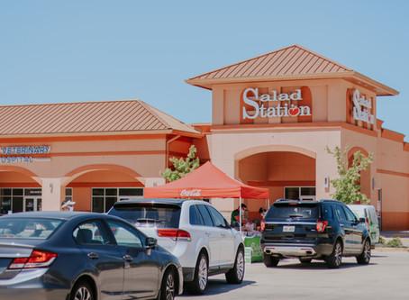 Salad Station Drive-Thru Fridays in Hammond,LA.