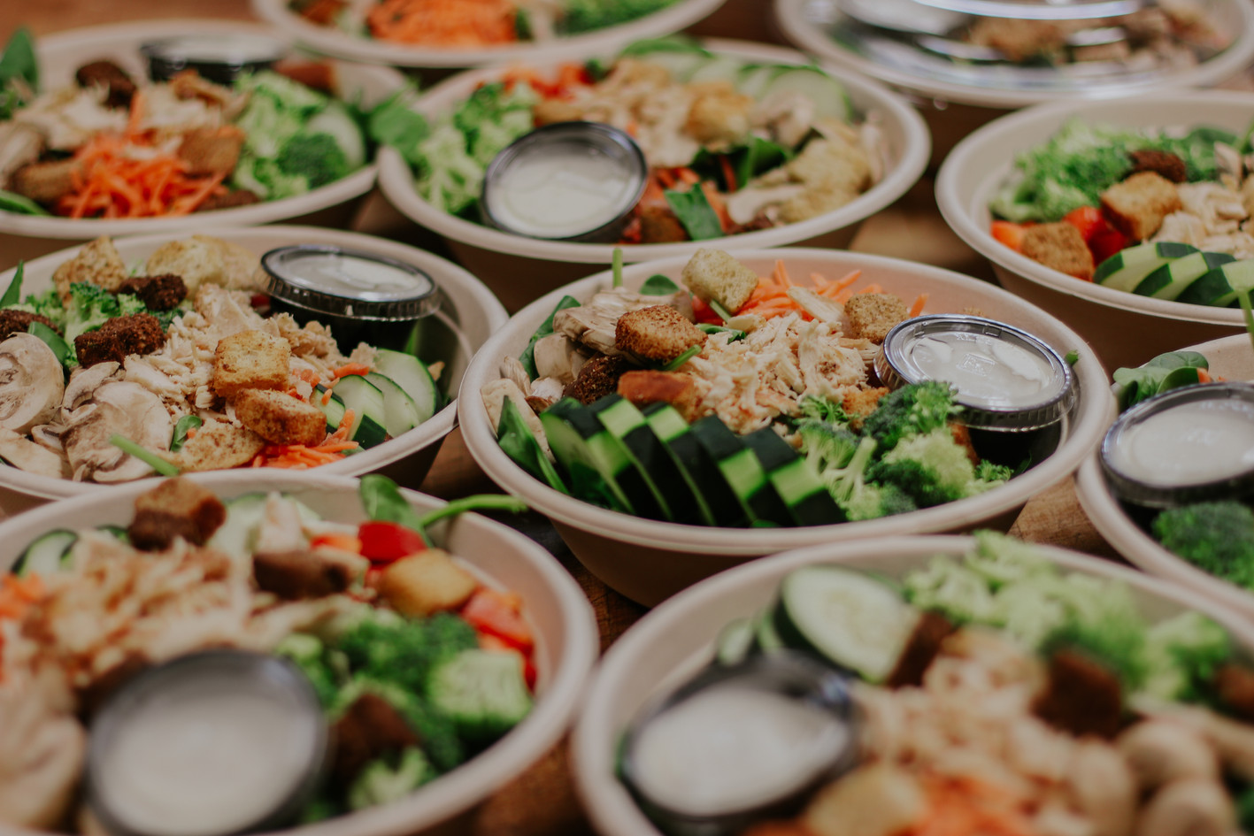Salad Station Donations