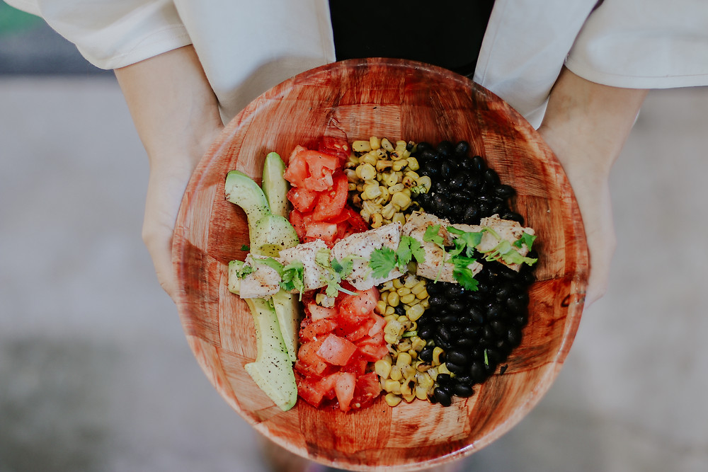 Mexican Bowl Salad Station