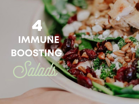 4 Immune Boosting Salads you must try.