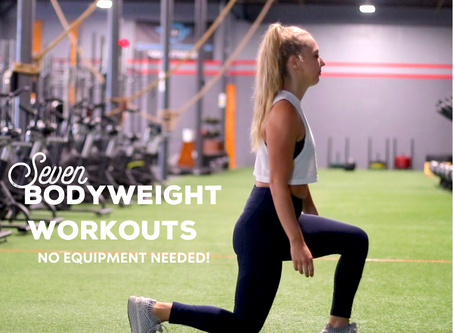 Best Bodyweight Workouts: No equipment needed.
