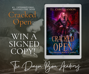 Win 1 of 5 signed copies of Cracked Open!