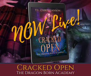 ☆☆☆ Cracked Open is LIVE ☆☆☆