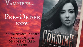 CARMINE - Blood and Thunder is now available for pre-order!