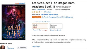 Cracked Open is a #1 Bestseller on Amazon.com!!