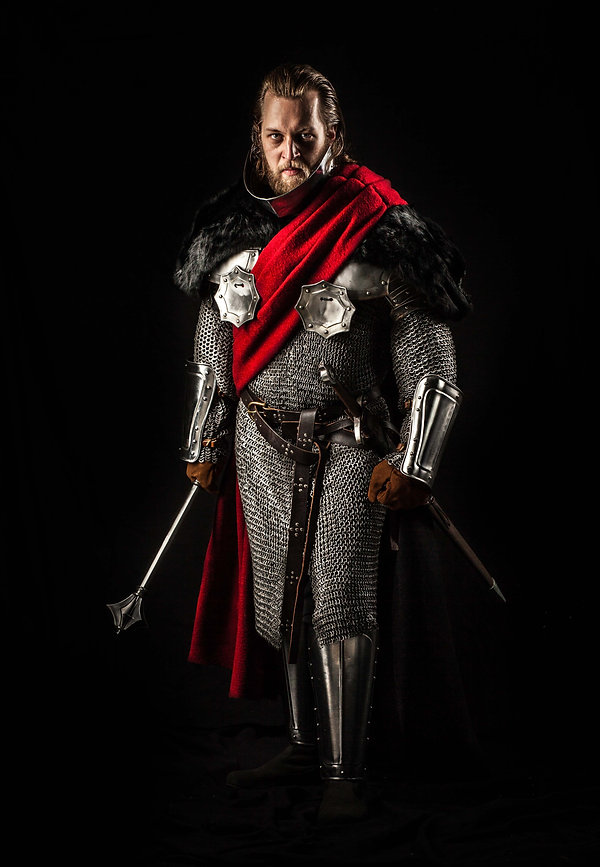 Foto Richard III. Philipp Schmidt actor and director / Schauspieler und Regisseur Shakespeare Mittelalter / knights medieval movie / Film