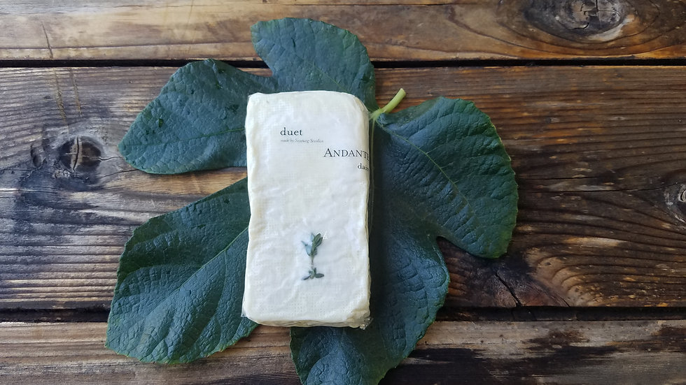 Duet Cheese by Andante Dairy (Goat and Thyme)
