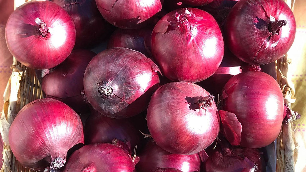 Red Onions by the pound
