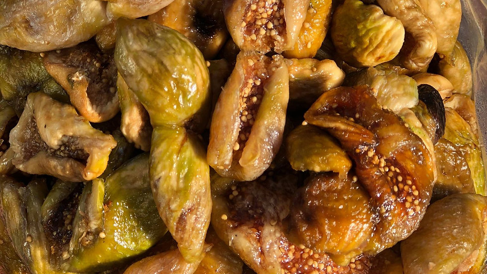 Sundried Light Figs by the 1/2 pound