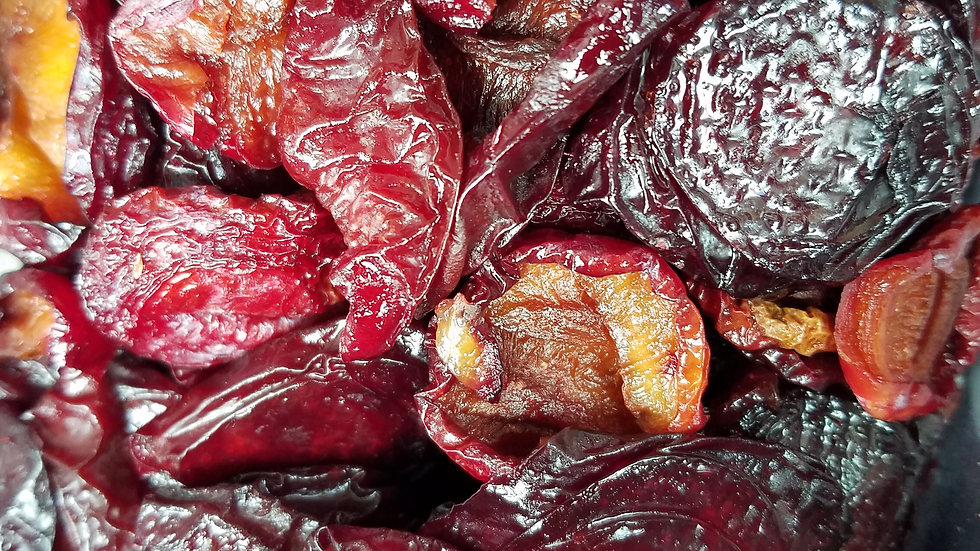Sundried Plums by the 1/2 pound