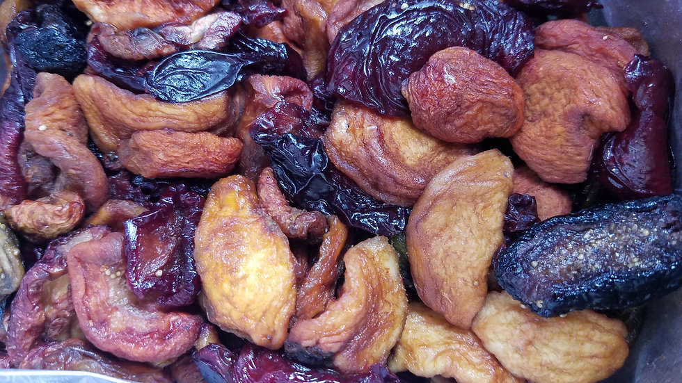 Sundried Mixed Fruit by the 1/2 pound