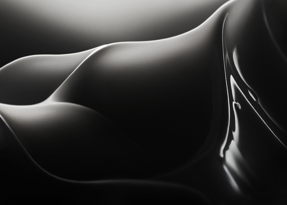 close up image of skincare cream whip lit in a moody style By Ian Oliver Walsh Still Life Photographer London