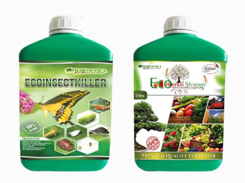 1 Litru EcoInsectKiller + 1 Litru EcoHumusStrong Gratuit!