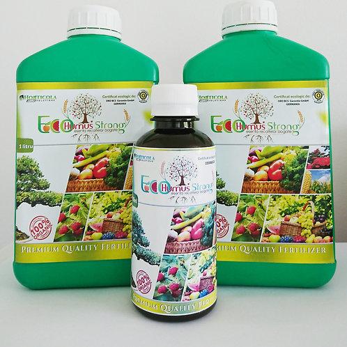 2 Litri EcoHumusStrong + 200ml Fertilizant GRATUIT!!