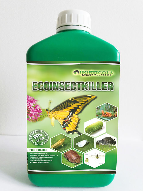 EcoInsectKiller - Insecticid Organic 1 litru