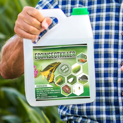 EcoInsectKiller - Insecticid Organic 5 litri
