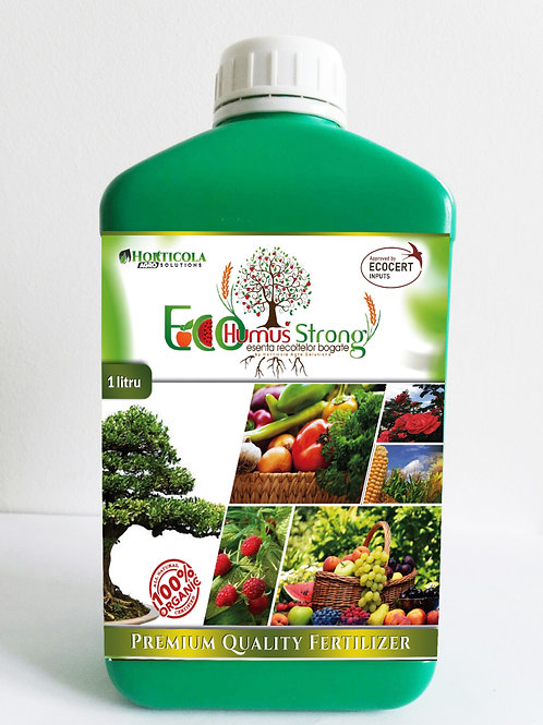 10Litri EcoHumusStrong Lichid + 2 litrii GRATUIT