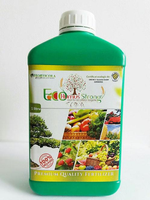 Oferta 4 Litri EcoHumusStrong + 1 Litru Fertilizant Gratuit!