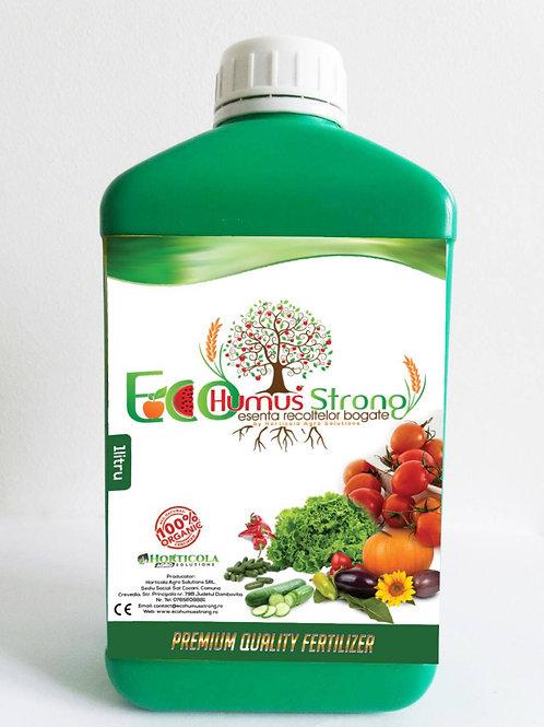 Oferta EcoHumusStrong pentru legume 4L +25 ml EcoInsectKiller Gratuit !