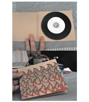 Custom Hand Drawn Vinyl CDs