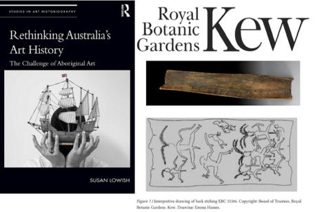 Royal Botanic Gardens, Kew - Scientific Drawing of Aboriginal Bark Etching