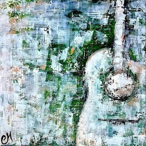 Guitar in the Garden