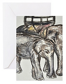 Emma Hames The Elephants Card