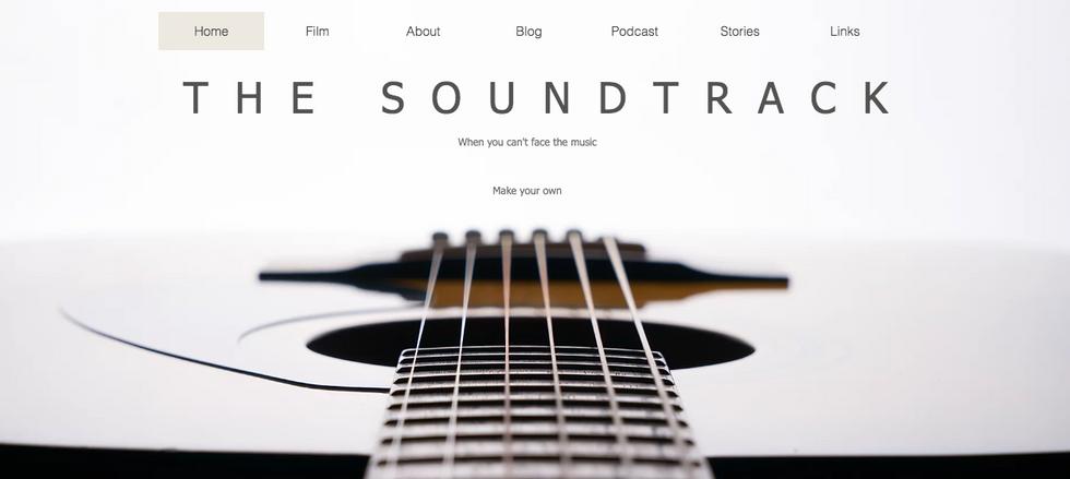 Documentary Film Website Design