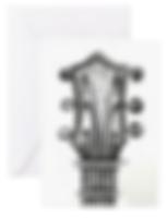emma hames card design guitar head