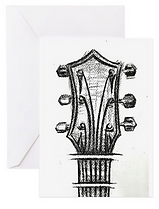 emma hames card design guitar head