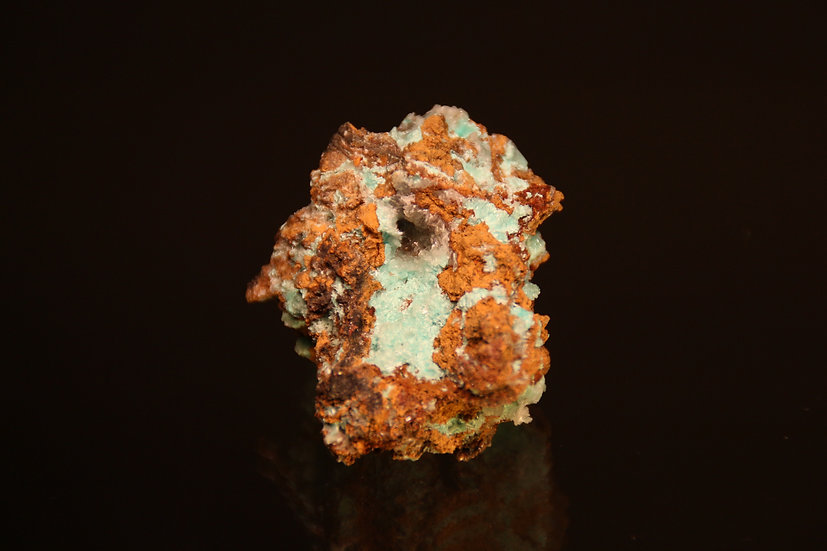 Aurichalcite, Hemimorphite,  Evelyn Mine, Pine Creek