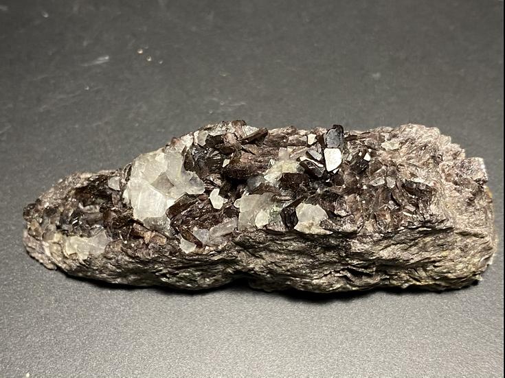 Axinite- Colebrook Hill Mine, Dundas