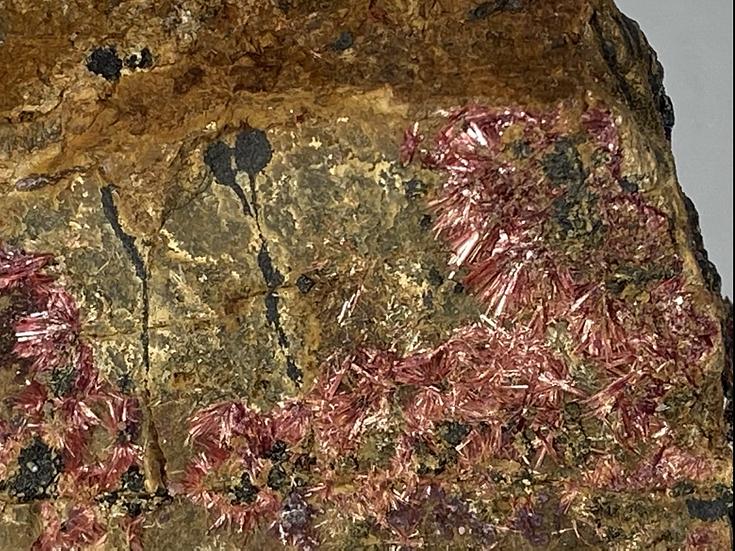 Erythrite, Mansfieldite, Smolianovite- Mt Cobalt Mine, Cloncurry