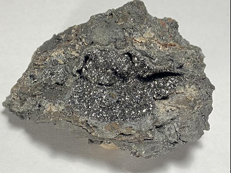 Pyrolusite, Iron Prince Open Cut, Iron Baron