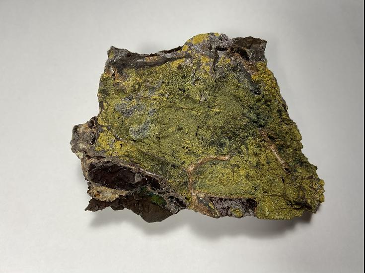 Cyrilovite, Strengite, Dufrenite- Iron Monarch Quarry, Iron Knob