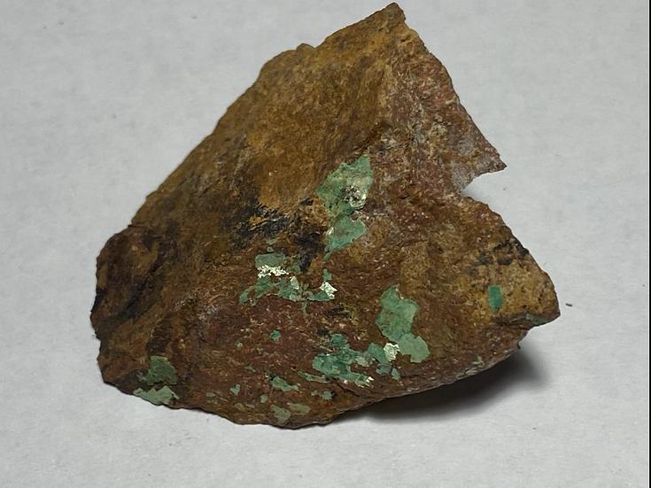 Torbernite,  Arkaroola